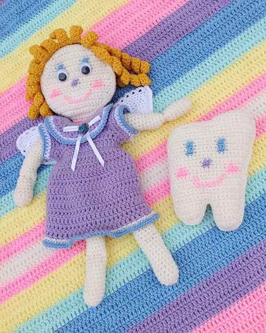 Picture of Tooth Fairy Set Crochet Pattern