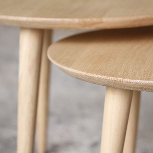 Made In France Table Basse Tripode Gigognes Sur Mesure Table Basse Table Gigogne