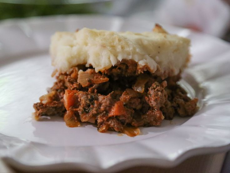 Lamb Shepherd's Pie recipe from Valerie Bertinelli the tomato puree she used is Pomi in the carton