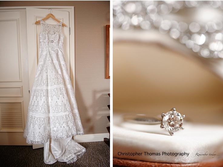 Christopher Thomas Photography » Brisbane Wedding Photographer - Wedding Dress, Engagement Ring