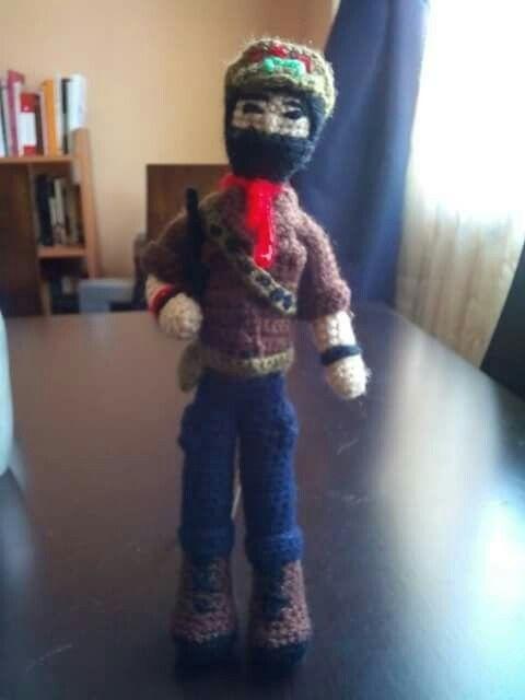 Subcomandante Marcos. Crochet