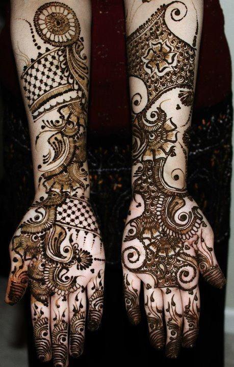 Henna bridal Arabic