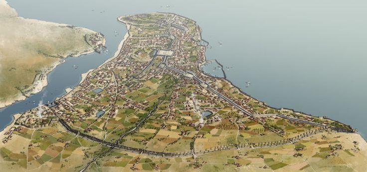 Constantinople in 1453 by Rocío Espín Piñar