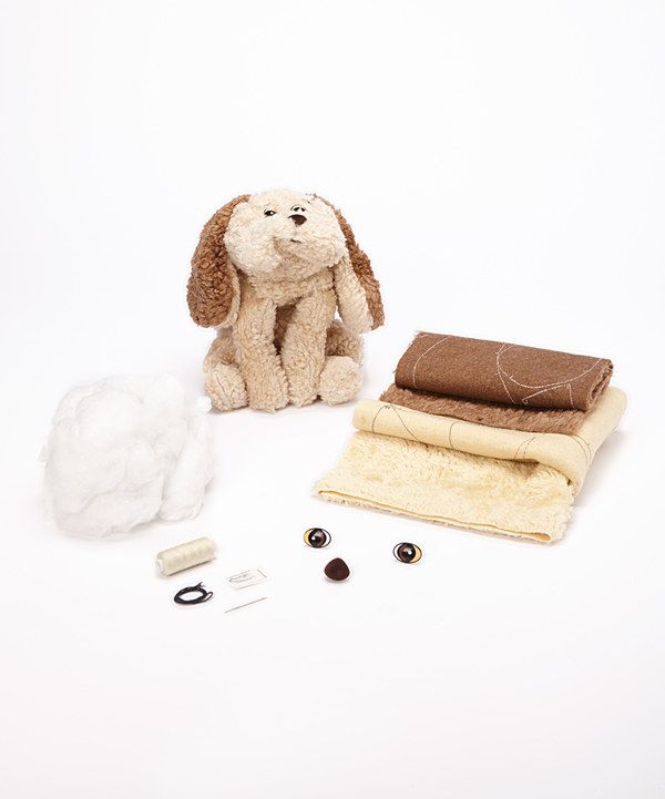 Look at this Barkley the Dog Plush Sewing Kit on #zulily today!