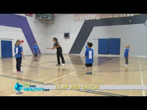 Clap and Catch  A catch game where the participants must clap before they catch the ball.