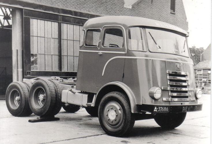 DAF Tandemas Truck 6 streper .