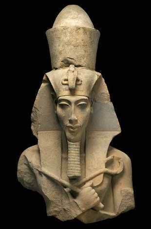 """Akhenaten, Egypt's """"heretic"""" Pharaoh."""