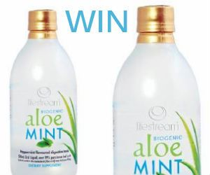 #Win Bottles of #Lifestream Biogenic #AloeMINT #Juice! *Competition closes Jan 31st* #contest #health #fitness