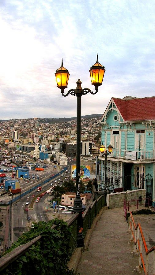 Cerro Artillería #Valparaíso #Chile Por favor Sígueme en +Augusto J Martinez