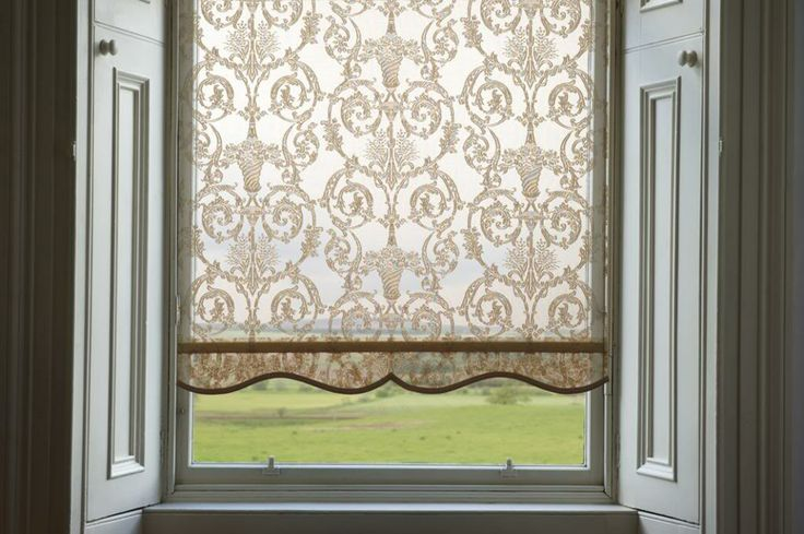 17 Best Images About Stiffened Blinds On Pinterest Lace