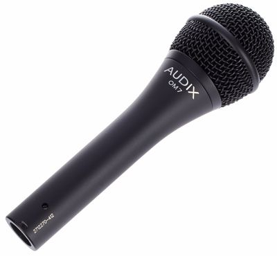 Lauri's microphone: Audix OM7  #distressofruin #audix #OM7 #microphone #metal #music