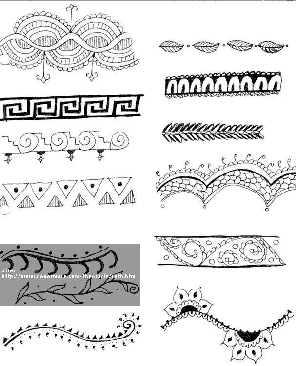 mehndi patterns