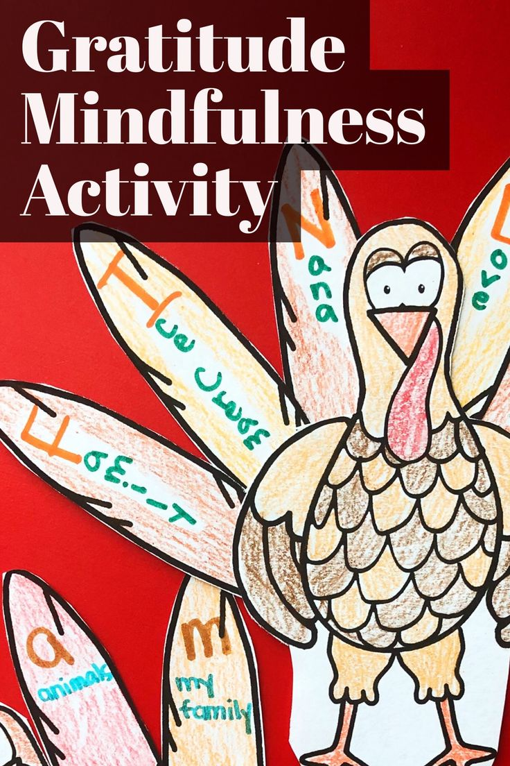In this Thanksgiving mindfulness activity, students will participate in a mindfulness exercise to explore gratitude through their senses! Use the mindfulness script included to lead students through the exercise and reflect on their experience of gratefulness. Students then create a turkey acrostic using their names to identify things they are grateful for. Perfect for classroom guidance lessons or small group counseling. -Counselor Keri