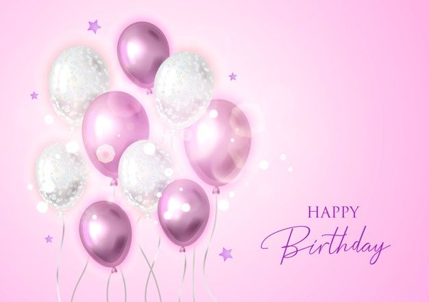 Happy Birthday Background With Balloons Happy Birthday Happy Birthday Messages Birthday Background