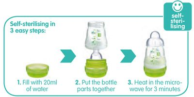 MAM baby bottles: BPA- Free Anti- Colic bottles, Nipples & Training cups for easy an easy transition to cups | personally, if i could've chosen, I wanted glass bottles. Since we had to put her in daycare, these worked really well for us. BPA free, valved bottom to let air out and reduce colic, and interchangeable/easy to clean parts.