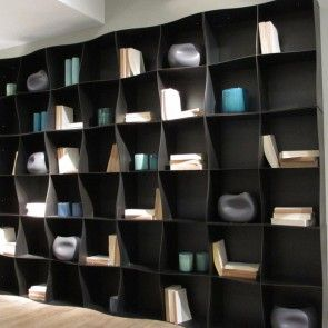 Interni Milano #isaloni #2015 Iron-ic #metal #bookcase #rondadesign