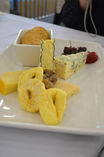 Ekka Food Tour 2012, Gold/Silver medal winning Cheese Platter of King Island Brie, King Island Roaring Forties Blue, Mil El Parmesan and South Cape Gouda