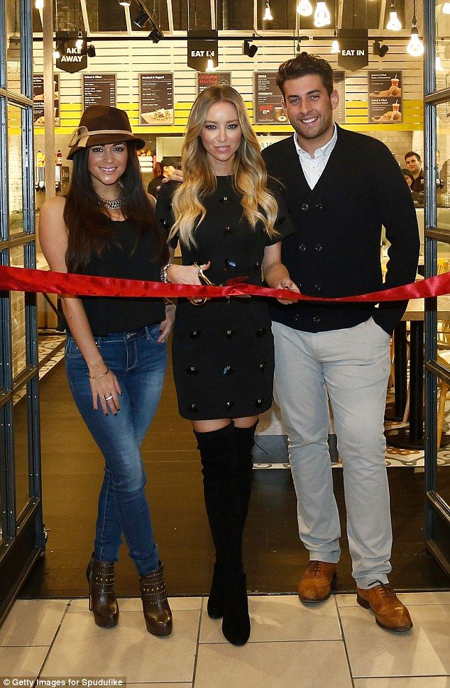 TOWIE cast at the opening of Spudulike at intu Lakeside. Designed by Tait. www.studiotait.com