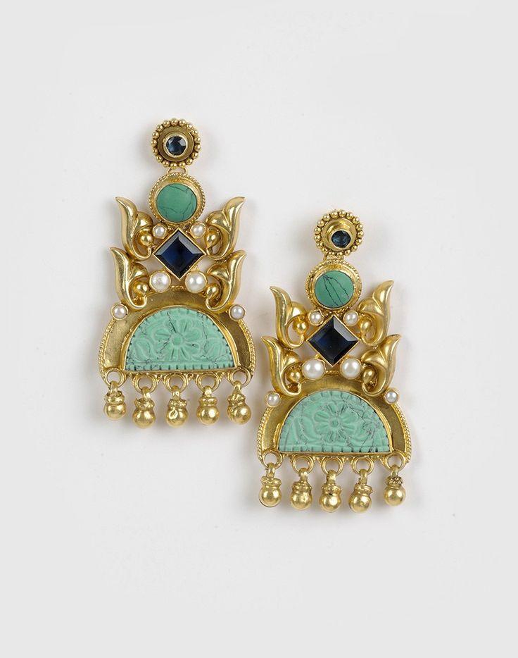 Silver Anusuya ES 1342 Earrings