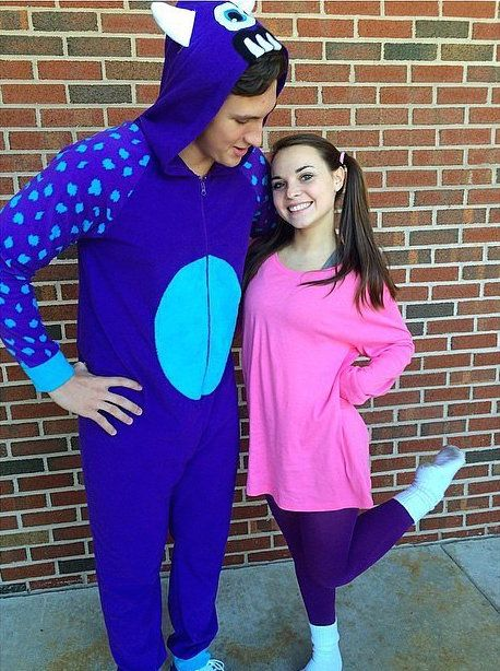 the caitlin diaries halloween costume ideas 2015 disney couple costume boo and sully friend costume - Boo Halloween Costumes