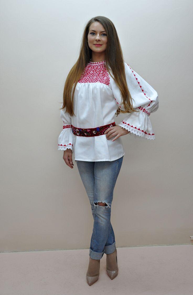 Blouse roumaine handmade 100%