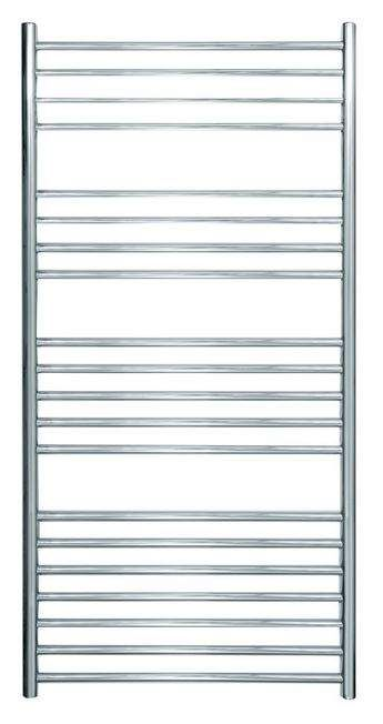 Ashdown 620 x 1250 Sussex Stainless Steel Towel Rail