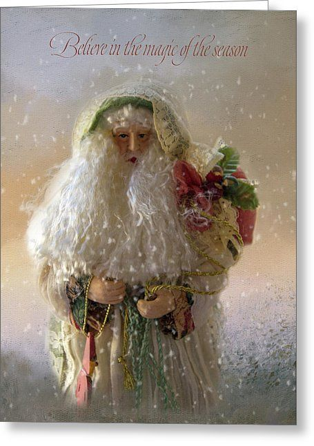 Christmas Magic Greeting Card For Sale By Terry Davis In 2018 Faa