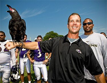 Conquer with Head Coach John Harbaugh at Practice
