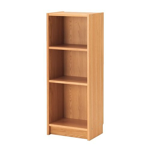 BILLY Bookcase IKEA Narrow shelves help you to use small wall spaces effectively by accommodating small items in a minimum of space.