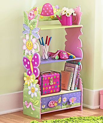 Repisa,biblioteca para el cuarto de la niñas