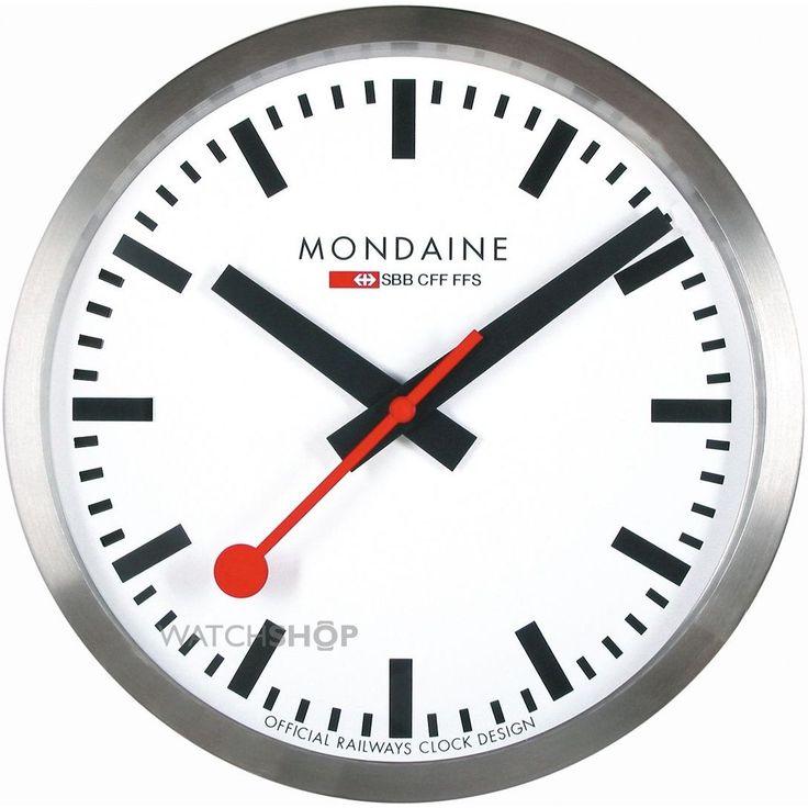 Mondaine Swiss Railways Large Wall clock A995.CLOCK.16SBB