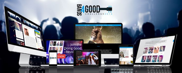 Bands4Good. We took this startup to the next level with design and marketing!