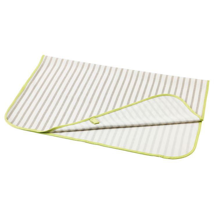 "TUTIG Changing pad - IKEA, $4.99 35 3/8 "" x  27 1/2 "" (90 cm x 70 cm)"