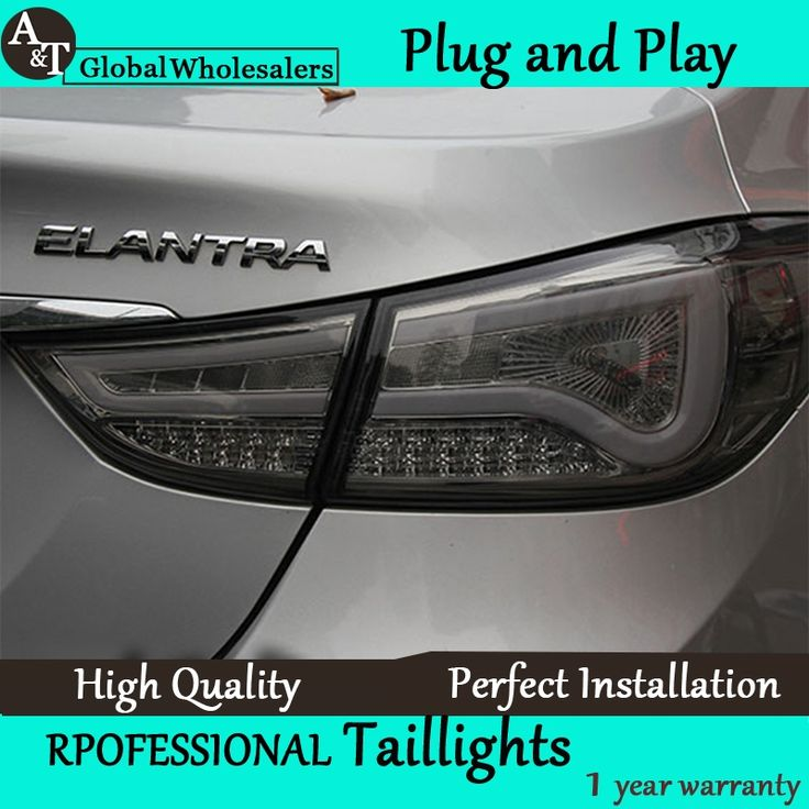 285.36$  Watch here - http://ali0pc.worldwells.pw/go.php?t=32672912753 - A&T Car Styling for Hyundai Elantra Taillights BMW Design New Elantra MD Tail Lamp Rear Lamp DRL+Brake+Park+Signal led light