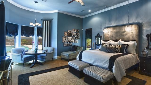 Blue Master Bedroom Captivating 2018
