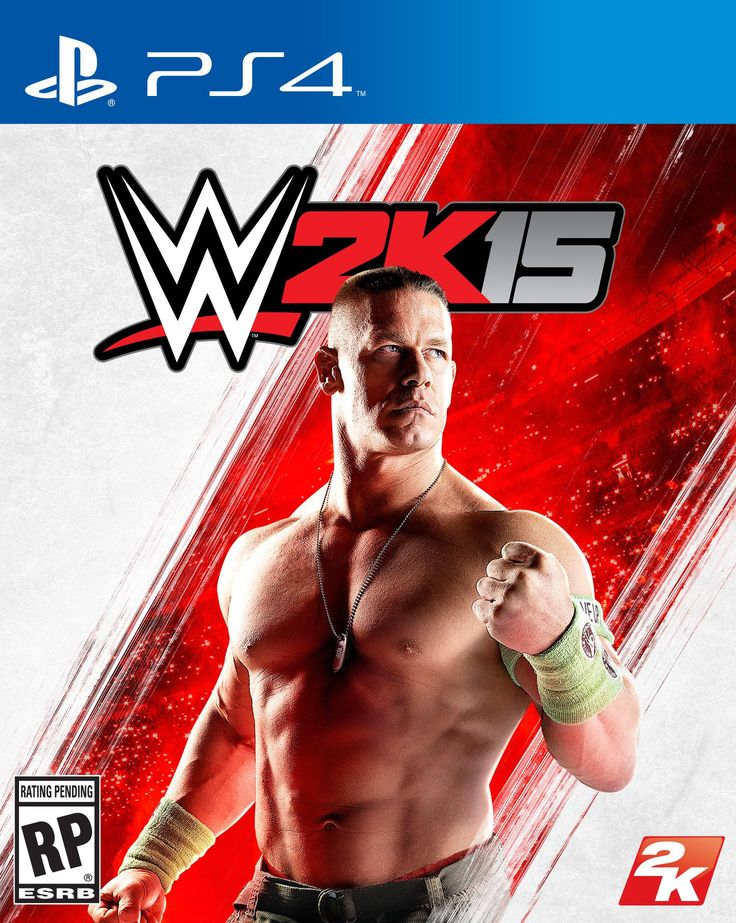 WWE 2K15 Video PS4 Game Cover with John Cena Revealed - http://www.wrestlesite.com/wwe/wwe-2k15-video-ps4-game-cover-john-cena-revealed/