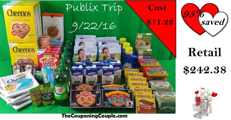 We had a great Publix shopping trip on 9-22-16! We picked up $242.38 worth of groceries for only $11.22! Click the Picture to check out the FULL DETAILED BREAKDOWN ► http://www.thecouponingcouple.com/publix-shopping-trip-on-9-22-16/  Use the SHARE button below the Picture to SHARE this Deal with your Family and Friends!  Visit us at http://www.thecouponingcouple.com for more great posts!