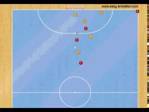Jugada de Estrategia de Fùtbol Sala: Corner 1