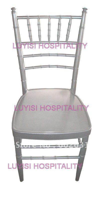 hot selling stronge Silver aluminum chiavari chair for hotel restaurant wedding