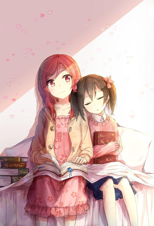 Reading time~Maki and Nico