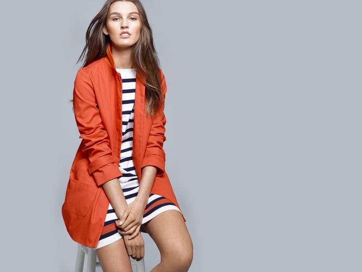Everyday Wear, Retail Therapy, Mac Jackets, Marines Stripes, Plays Dresses, Orange Spring, Ashley Style, Download Clothing, Joe Fresh