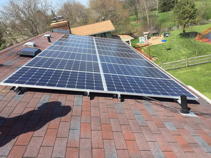 April 21, 2016 4.32 kW roofmounted solar panel system