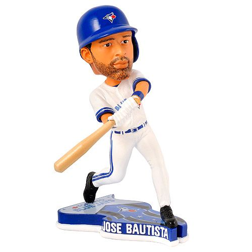 Toronto Blue Jays Jose Bautista Pennant Base Bobblehead by Forever Collectibles - MLB.com Shop