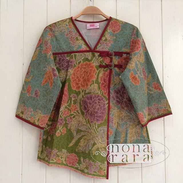 94cm Fabric: Batik Encim Pekalongan