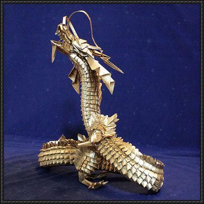 Amazing Chinese Dragon Origami Free Turorial Download ... - photo#16