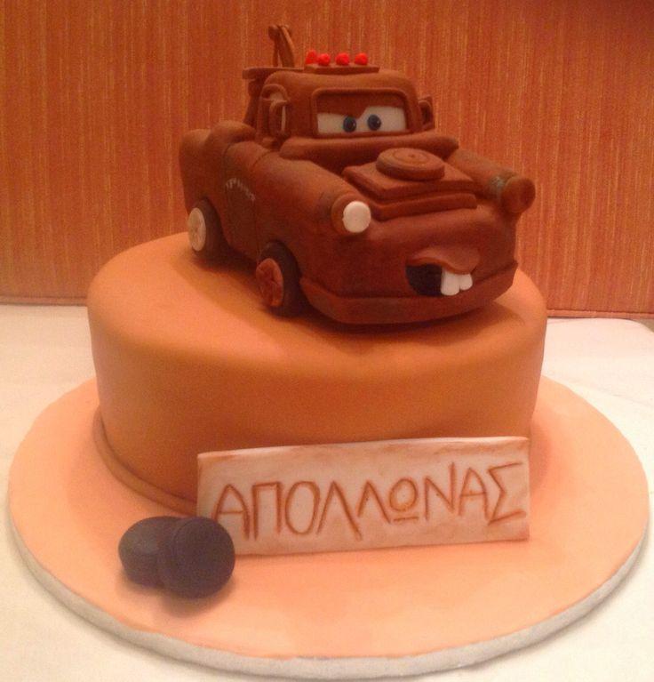 Tow Mater Cake - Μπάρμπας