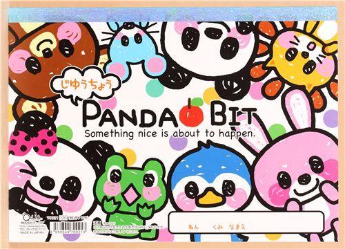 kawaii animals drawing book panda bear frog penguin