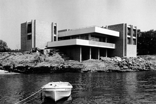Arquitectura Brutalista (ph. Buttenweiser House / Ulrich Franzen)