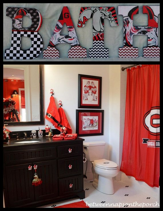 Georgia Bulldogs Inspired by mytrendyexpressions on Etsy