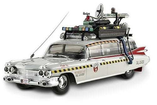 An updated version of the classic Ecto-1. Check out the digital advertising boards on the roof! This Hot Wheels Elite Ghostbusters 2 Ecto-1A 1:43 Scale Die-Cast Vehicle is a must for any Ghostbusters fan! You know who to call!